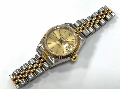 ロレックス買取 腕時計買取 デイトジャスト買取 69173買取 レディース MARUKA 京都北山店 ブランド時計買取はマルカで! 左京区で買取