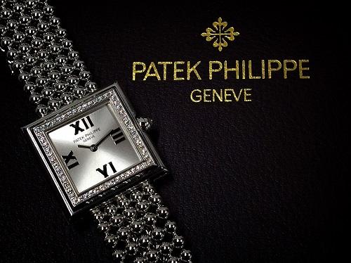 パテックフィリップ買取 ゴンドーロ買取 4868/1G-001 750WG ダイヤべセル 時計買取 渋谷