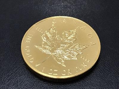金貨買取 メイプルリーフコイン買取 K24 純金買取 地金買取 七条店