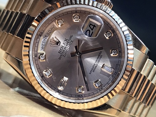 ロレックス デイデイト 時計 118235F 買取 京都 四条 烏丸 河原町