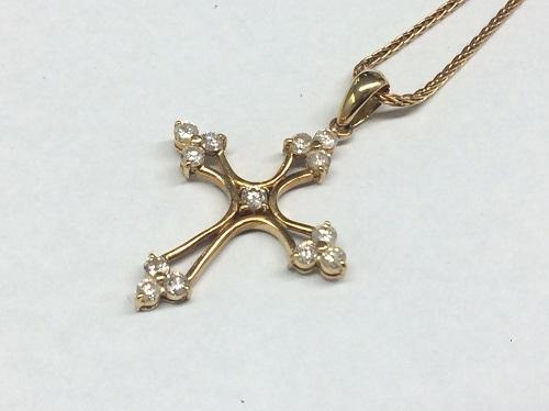 ダイヤモンド買取 K18 0.72ct 6.3g 宝石 七条 買取