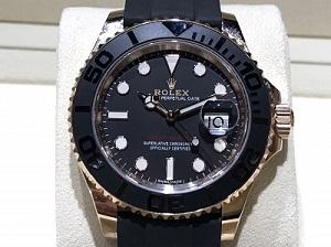 ロレックス買取 ヨットマスター買取 時計買取 Ref.116655 PG×ラバー