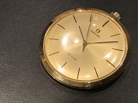 オメガ買取 福岡 時計買取 天神 博多 大名 OMEGA デヴィル 懐中時計買取
