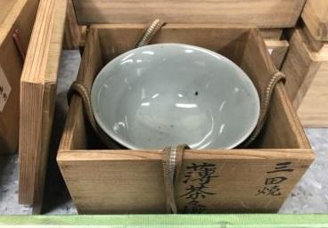 茶道具 茶碗買取 三田焼薄茶碗 陶磁器買取 出張買取京都大阪兵庫奈良滋賀 MARUKA