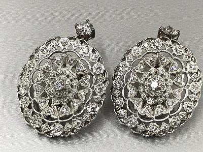 イヤリングPt900 0.30ダイヤモンド 高価買取マルカ渋谷店
