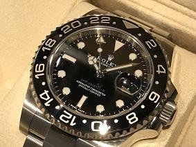 ロレックス買取 福岡 時計買取 天神 博多 大名 ROLEX GMTマスター2 Ref.116710 買取 高い
