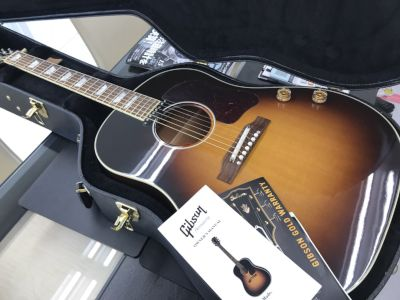ギブソン J-160E アコースティックギター買取 大阪で楽器買取もやっぱりMARUKA