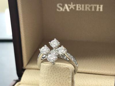 SABIRTH ダイヤモンドリング買取 ブランドジュエリー買取は大阪心斎橋のMARUKAへ