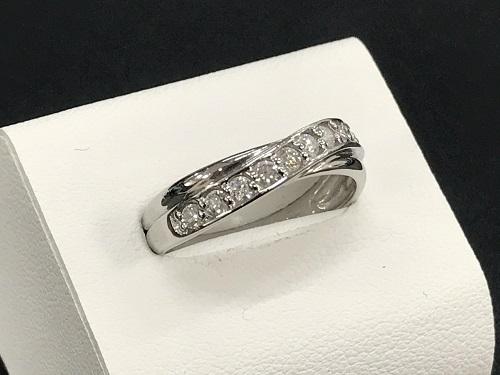 ダイヤモンド買取 Pt900 0.30ct 3.4g 宝石 神戸三宮 買取