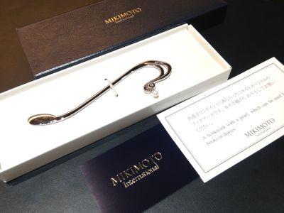 MIKIMOTO(ミキモト)のパール付きブックマーク