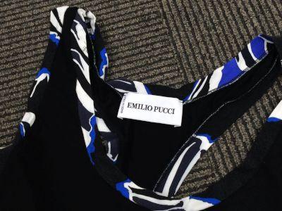 エミリオプッチ買取 EMILIO PUCCI トップス ブラック プッチ柄 洋服