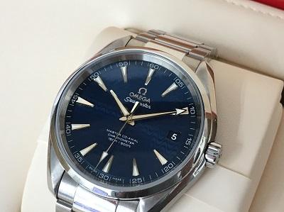 オメガ シーマスター アクアテラ コーアクシャル買取 高級時計買取なら神戸三宮のMARUKAへ