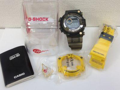 カシオ(CASIO) G-SHOCK フロッグマン DW-8200AC-8T  チタン ×ラバー 京都 大宮店 高価買取