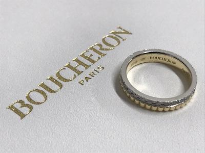 ブシュロン買取 キャトルラディアントリング買取 750 ダイヤモンド買取 ジュエリー買取 渋谷