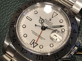 ロレックス買取 福岡 天神 時計買取 福岡 博多 大名 エクスプローラー2 買取 Ref.16570 ROLEX