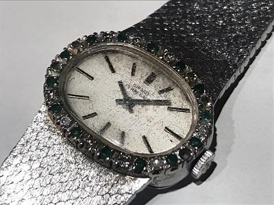ジラールペルゴ買取 金無垢時計買取 手巻きアンティーク時計買取 渋谷マルカ