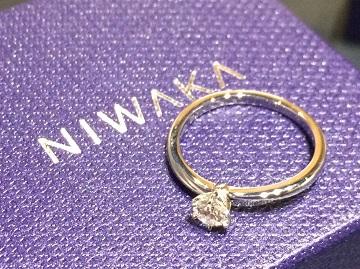 俄(NIWAKA) 買取 ことほぎ エンゲージリング 高価買取 ダイヤモンド買取 銀座 マルカ