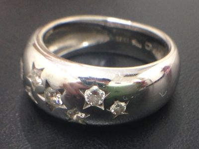 STARjewelry スタージュエリー ダイヤモンドリング 高価買取 750 京都 七条