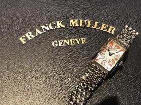 フランクミュラー買取 福岡 天神 時計買取 福岡 博多 大名 ロングアイランド 802QZ FRANCK MULLER