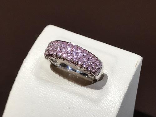 指輪 サファイア 宝石 K18WG 買取 京都 四条 烏丸 河原町