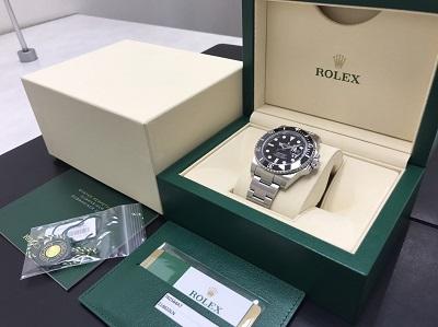 ロレックス買取 サブマリーナ買取 Ref.116610LN 新品 腕時計高価買取 七条店