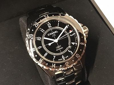 シャネル買取 J12買取 GMT H2012 黒セラミック AT 時計買取 渋谷