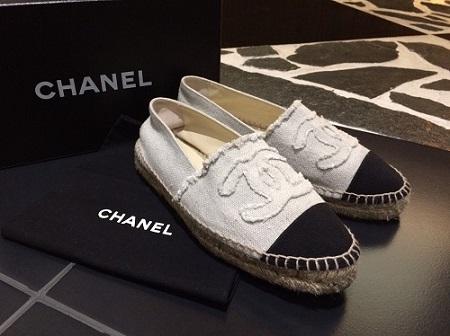 シャネル 買取 エスパドリーユ 靴 アパレル 高価買取 ブランド 売りたい 高値 銀座 東京