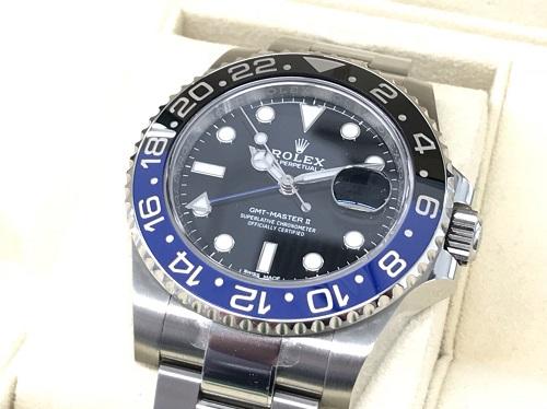 ロレックス買取 GMTマスターⅡ 116710BLNR 大阪難波で時計売るならMARUKA心斎橋店