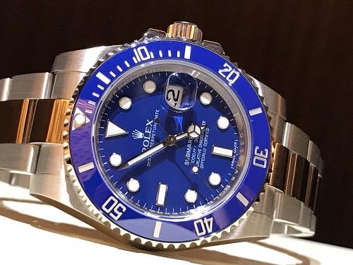 ロレックス サブマリーナ  時計 ブランド 買取 116619LB 青サブ