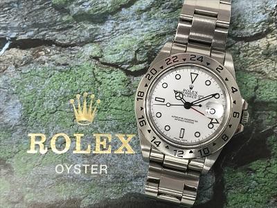 ロレックス エクスプローラーⅡ 16570買取 高級時計買取なら神戸三宮のMARUKAへ