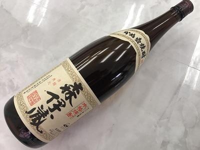 酒 森伊蔵 1800ml 買取 芋焼酎 買取 神戸 三宮のMARUKAへ