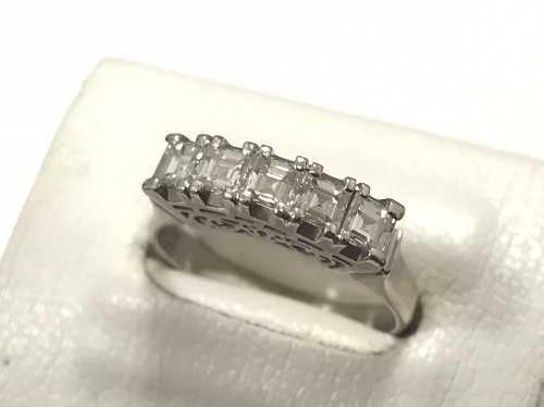 ダイヤモンド買取 プラチナ買取 1.05カラット Pt900 指輪買取 宝石買取 京都 中京区 四条 大宮 西院