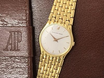 オーデマピゲ 750YG 金無垢 手巻き 時計買取 灘区 東灘区 三ノ宮 高級時計買取