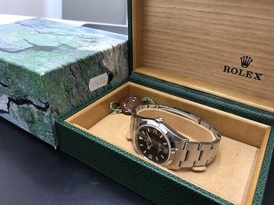 ロレックス買取 エクスプローラー1買取 Ref.114270 腕時計 高価買取 七条店