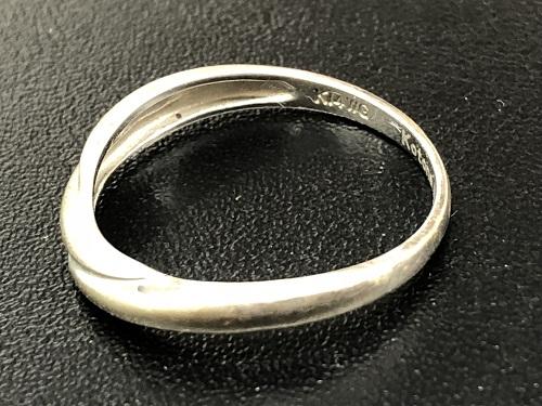ホワイトゴールド買取 K14WG買取 金の指輪買取 585 貴金属 2.2グラム MARUKA京都北山店 左京区でお買取り