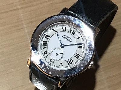 カルティエ時計買取 マスト2ロンドヴェルメイユ 渋谷 時計 売る