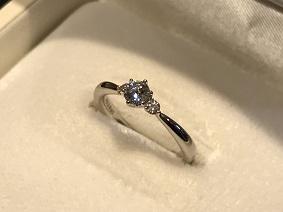 ダイヤモンド買取 福岡 天神 宝石買取 インペリアル194 ピンクダイヤモンド プラチナ買取