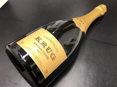 クリュッグ買取 シャンパン買取 お酒 高価買取 出張買取
