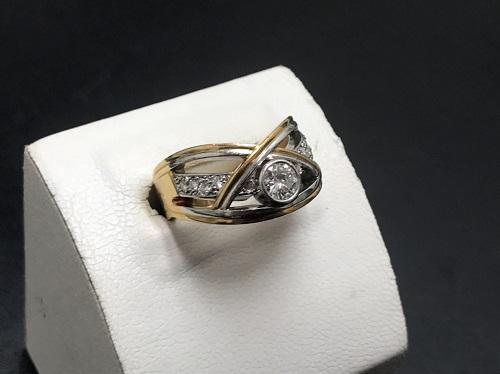 ダイヤモンド買取 K18/Pt900 0.32ct 0.13ct 11.1g 宝石 大宮 買取