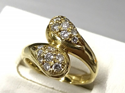 ジュエリーリング 買取 18金 ダイヤモンド 貴金属 高価買取 渋谷