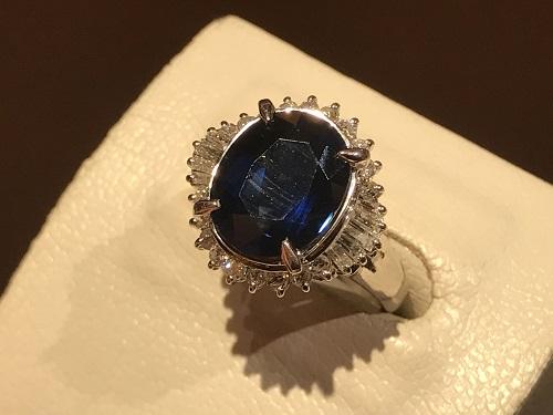 サファイア 指輪 リング 買取 四条 烏丸  ダイヤモンド ジュエリー