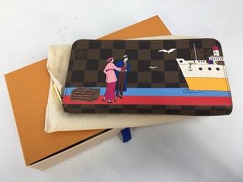 ヴィトン 買取 財布 ジッピー・ウォレット N41665 2016年限定 宅配 査定 無料