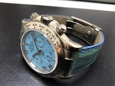 ロレックス買取 デイトナビーチ買取 ターコイズ Ref.116519 腕時計 本体のみ 高価買取 七条店
