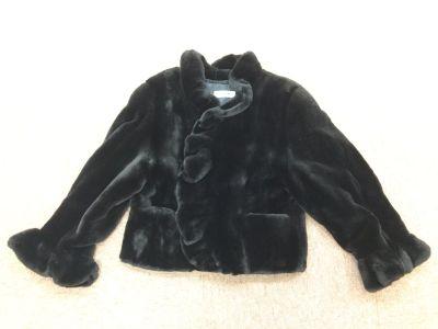 毛皮 ショートコート ミンク ブラック レディース 女性用 ネーム入り マルカ 西大路七条店 お買取り
