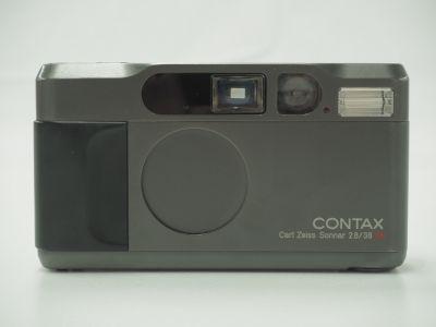 CONTAX コンタックス T2 カールツァイスT*ゾナー38mm/F2.8 チタンブラック 京都 北山 カメラ 買取