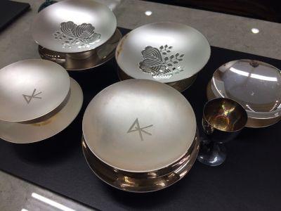 銀杯 純銀 SV1000 高価買取 マルカ 京都 福岡 東京