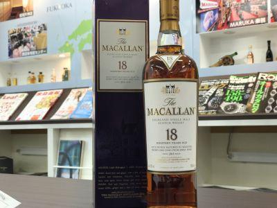 マッカラン(MACALLAN)18年 ウイスキー買取のマルカ(MARUKA)
