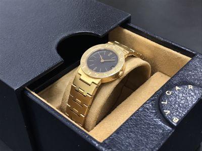 BVLGARI ブルガリ ブルガリブルガリ BB23GGD レディース 金無垢 腕時計 高価買取 七条店