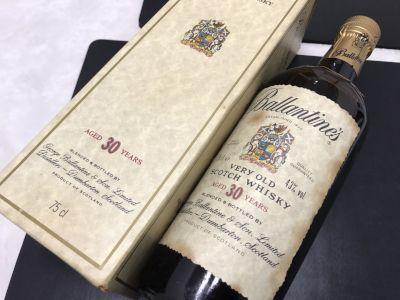 Ballantine's バランタイン 30年 ウイスキー お酒 高価買取 出張買取