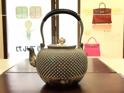 銀瓶買取 茶道具買取 骨董品買取 美術品買取 出張買取マルカ(MARUKA)